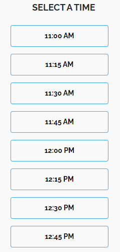 Select Meeting time